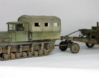 Коминтерн с гаубицей МЛ-20 (пыльный)