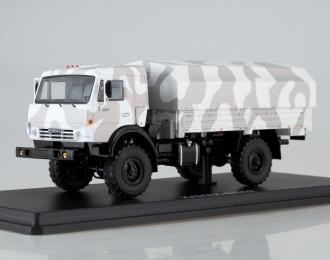 КАМАЗ-43502 Мустанг, камуфляж Арктика