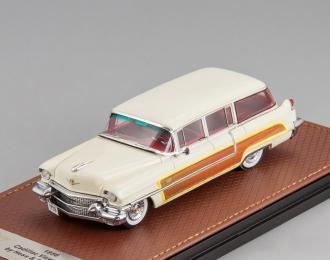Cadillac Series 62 Hess & Eisenhardt Wagon 1956 (white)