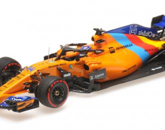 MCLAREN RENAULT MCL33 ALONSO LAST F1 RACE ABU DHABI GP 2018
