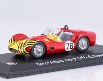 MASERATI Tipo 61 #78 Schroeder Nassau Trophy 1961