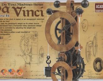 Сборная модель Часы  Da Vinci Clock