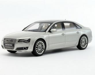 AUDI A8 W12 (D4) 2010 Cuvee, Silver Metallic