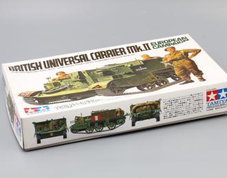 Сборная модель British Universal Carrier Mk.II European Campaign