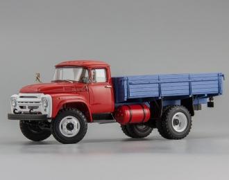 138 бортовой Автоэкспорт 1977 г., красный / синий