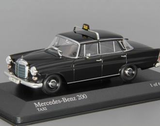 (Уценка!) MERCEDES-BENZ 200D Taxi (W110), black