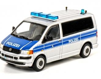 VOLKSWAGEN Transporter, Premium Line 1:50, синий с белым