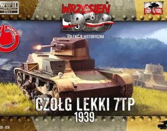 Сборная модель Легкий танк 7TP