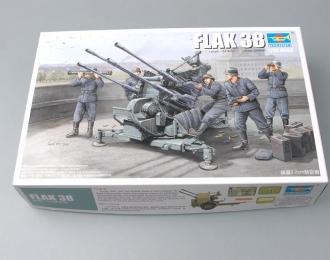 Сборная модель Немецкая зенитная установка 2.0cm FLAK 38