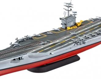 Сборная модель Корабль Авианосец Нимиц (CVN-68) американский