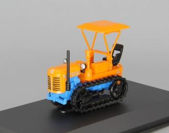 ДТ-20В гусеничный, Тракторы 71, оранжевый / голубой