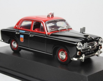 PEUGEOT 403 Taxi G7, black / red