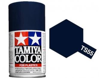 (Уценка!) TS-55 Dark Blue (Темно-синий) аэрозольная краска, 100 мл. (в баллоне)