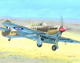 Сборная модель Самолет Hurricane Mk.IID