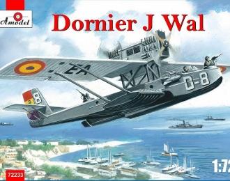 Сборная модель Немецкая летающая лодка Dornier Do J Wal (испанский республиканский вариант)