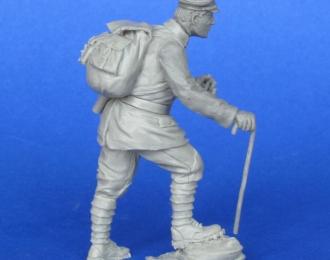 Немецкий офицер, горный егерь. Первая Мировая Война