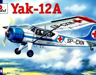 Сборная модель Советский лёгкий многоцелевой самолет Як-12А