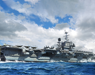 Сборная модель USS John F. Kennedy CV-67
