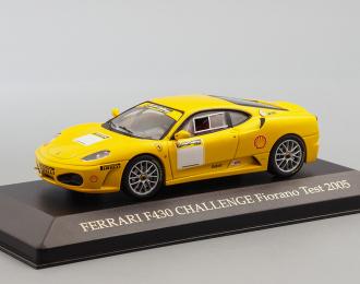 FERRARI F430 Challenge Fiorano Test (2005), yellow