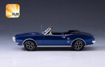 PONTIAC Firebird 400 Convertible (открытый) 1968 Blue