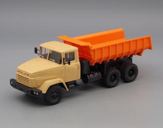 КРАЗ 6510, бежевый / оранжевый