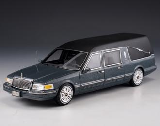 LINCOLN Towncar S&S Hearse (катафалк) 1997 Metallic Grey