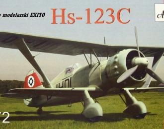 Сборная модель Самолет Hs-123C