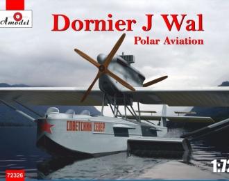 Сборная модель Немецкая летающая лодка Dornier Do J Wal (полярной авиации ВВС РККА)
