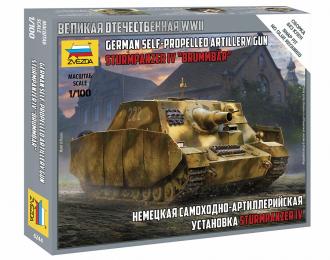 Сборная модель Немецкая самоходно-артиллерийская установка STURMPANZER IV