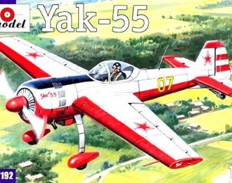 Сборная модель Советский легкомоторный самолет Як-55