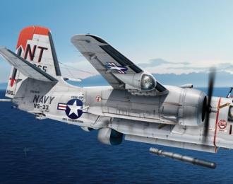Сборная модель Противолодочный самолет S-2 E/F/G Tracker