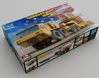 Сборная модель M983A2 HEMTT Tractor with M870A1 Semi-Trailer