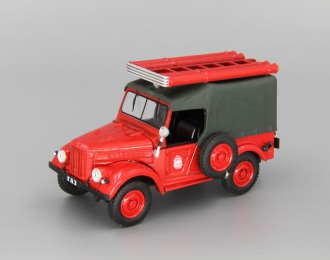 Горький 69 (ПМГ 20) Пожарная служба, Автомобиль на службе 3, красный