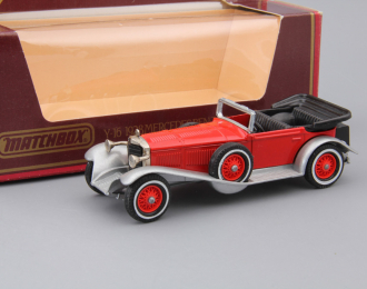 MERCEDES-BENZ SS (1928), Models of Yesteryear, red / silver / black