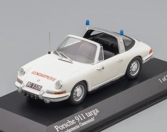 PORSCHE 911 Targa Gendarmerie Austria (1965), white