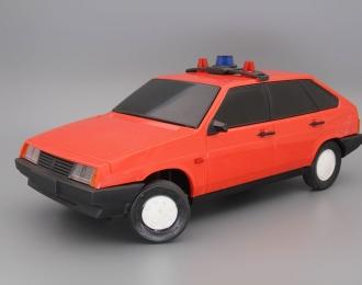 ВАЗ-2109 Милиция, красный