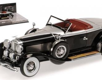 Duesenberg Model J Torpedo Convertible Coupe 1929 (black)