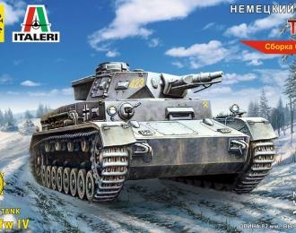 Сборная модель Немецкий танк Т-IV