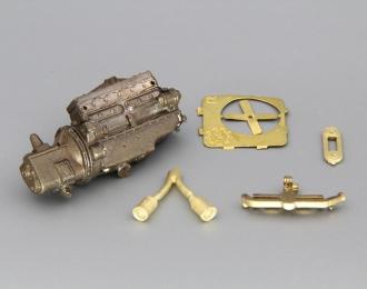 Сборная модель Двигатель ZIS-5 (латунь)