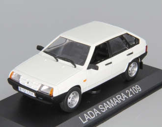Волжский автомобиль 2109 Lada Samara, Masini de Legenda 22, белый