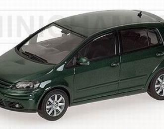 VOLKSWAGEN Golf Plus, dark green metallic