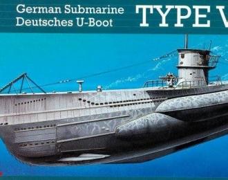 Сборная модель Немецкая подводная лодка Тип VII/C