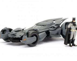 "Batmobile ""Batman vs Superman"" 2016 with Batman figurine"