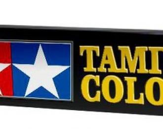 Вывеска для стенда красок Tamiya