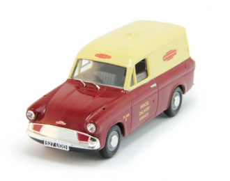 FORD Anglia Van British Railways, cream / cherry