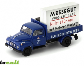 "BORGWARD B1500 pick-up truck ""Lloyd"" (Germany 1955), blue"