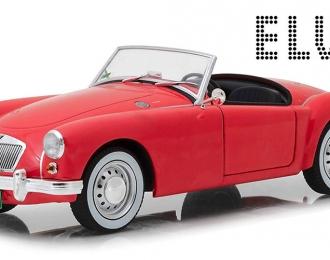 """MG A 1600 Roadster Elvis Presley 1959 Red (из к/ф """"Голубые Гавайи"""")"""