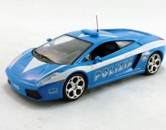 (Уценка!) LAMBORGHINI Gallardo, Полицейские Машины Мира 20, голубой