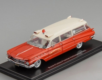 BUICK Flxible Premier Ambulance (1960), red / white