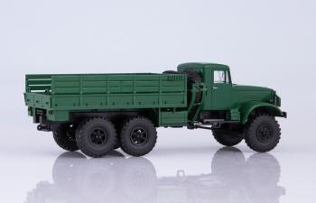 КРАЗ-214 бортовой, темно-зеленый